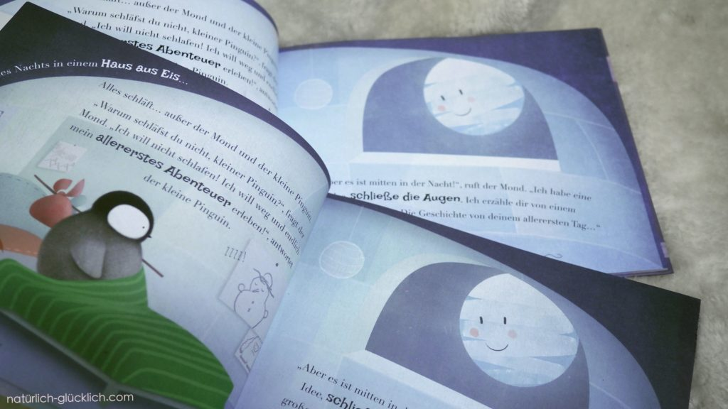 Little Yeti Kinderbücher Geschenk zur Geburt eines Babys