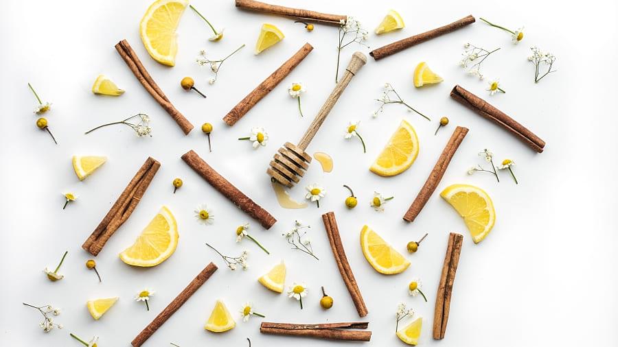 Teezeremonie heiße Zitrone gesund Gesundheit