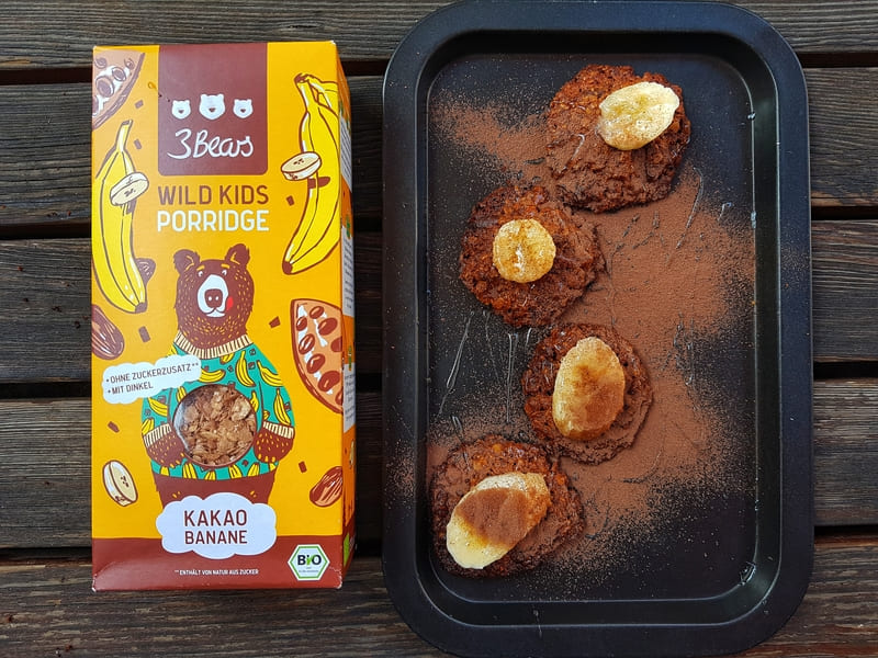 3 gesunde Frühstücksideen für Kinder Rezept Hafercookies
