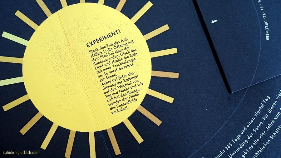 Buchtipp für Kinder Rund um die Sonne