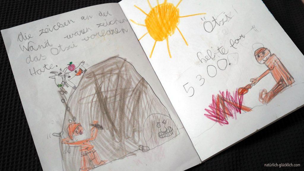 Ötzi Buch selbstgemacht DIY