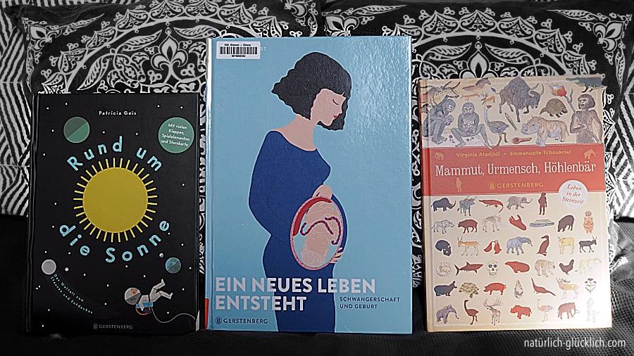Unsere drei Lieblingsbücher Gerstenberg Verlag Frühling 2021