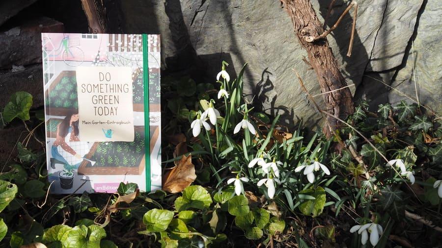 Do something green today Buchtipp Gartenjournal