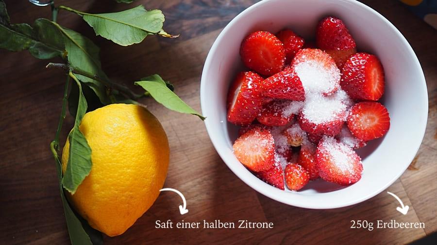 Erdbeer-Tiramisu Rezept aus Italien sommerlicher Tiramisù