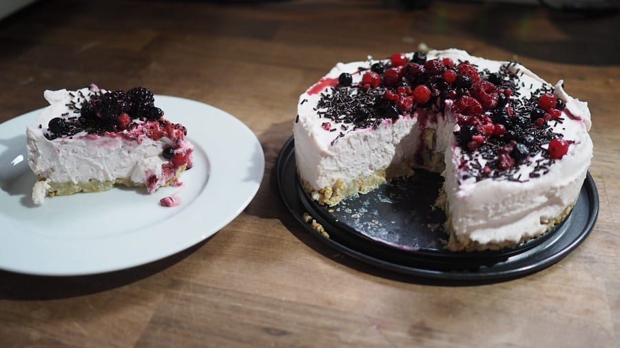 Einfaches Cheesecake Rezept für Muttertag