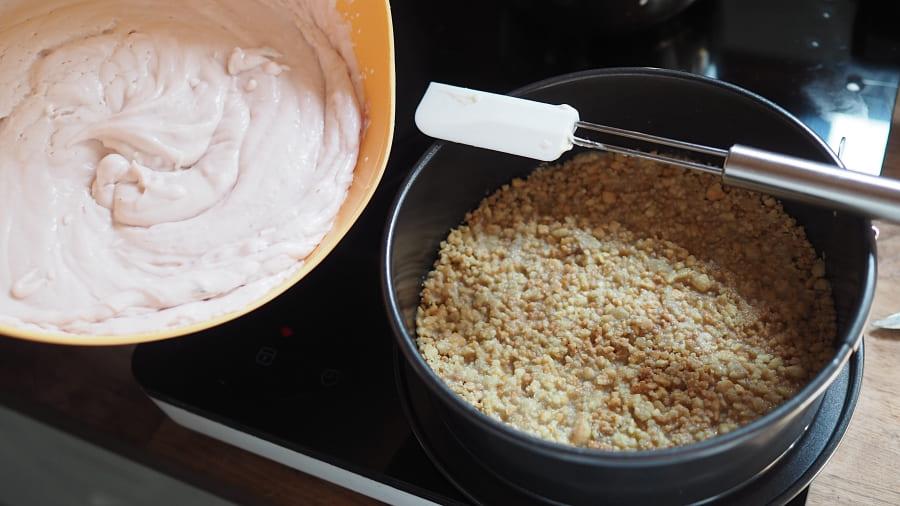 no bake cheesecake kuchen für muttertag einfaches rezept